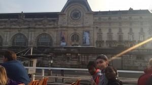 Bateau mouche musée d'Orsay