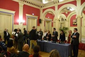 mairie 16 remise médaille Jorick LEPAGE