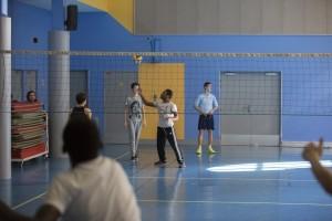 Lycée et IES Sainte Thérèse - Le lycée technique - Classe de 3ème en cours d'EPS
