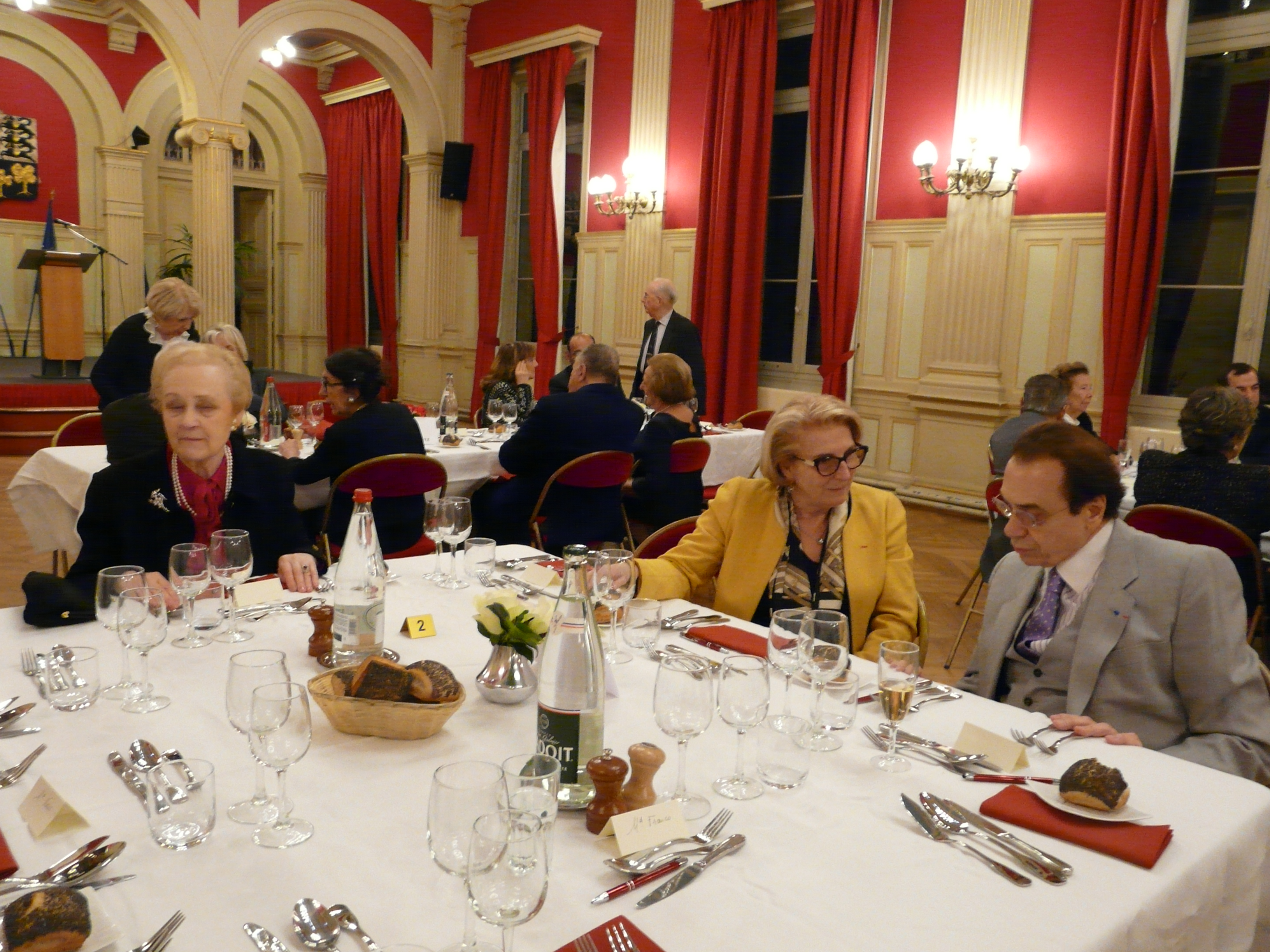 Dîner de la SMLH, section Paris 16e