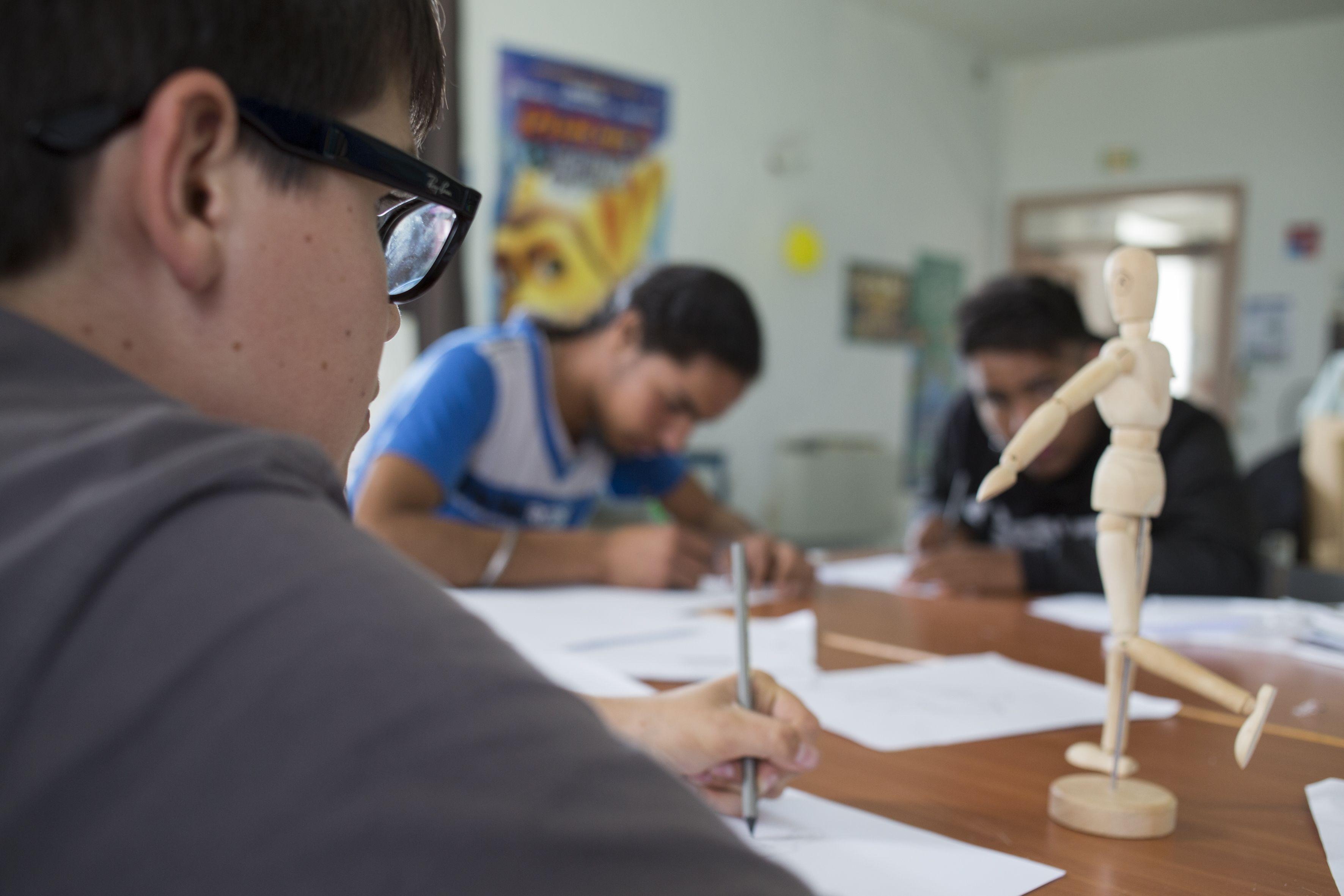 Classe 4e Tous artistes - dessin